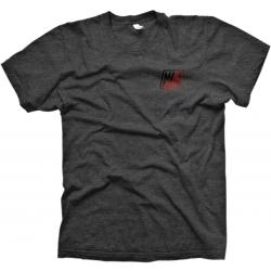 MANKIND Company T-Shirt medium heather grey with red fade print - VK 24,95 EUR - NEW