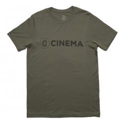 CINEMA Crackle T-Shirt vintage military green - medium - VK 29,95 EUR - NEW