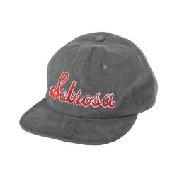 SUBROSA Embroidered Cold One Hat grey - VK 42,95 EUR - NEW