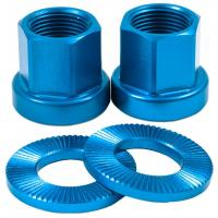 SHADOW Alloy Nuts 14mm blue - 15,95 EUR