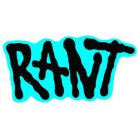 RANT Logo Sticker black - VK 0,50 EUR