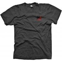 MANKIND Company T-Shirt heather grey with red fade print - medium - VK 24,95 EUR