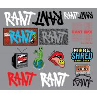 RANT 2020 Sticker Set - VK 10,95 EUR - NEW