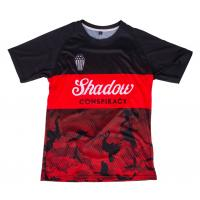SHADOW Finest Soccer Jersey Shirt black/red - 2XL - VK 71,95 EUR - NEW
